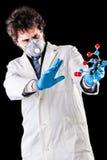 Исследователь вспугнутый молекулой tnt Стоковая Фотография RF