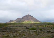 дистантная гора Стоковая Фотография RF
