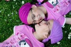 истинные близнецы Стоковые Изображения