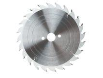 истирательная работа пилы металла диска резки по окружности лезвия Стоковая Фотография RF