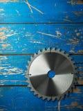 истирательная работа пилы металла диска резки по окружности лезвия Стоковое Изображение