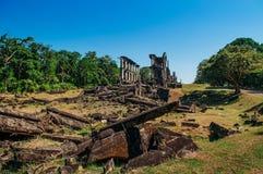 Историческая армия Тихоокеанской войны barracks остров Corregidor руин, Mani Стоковая Фотография RF