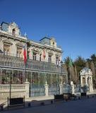 Историческая архитектура арен Punta, Чили стоковые фото