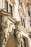 Историческая архитектура в Будапеште стоковые фотографии rf