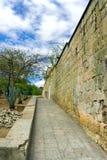 Историческая архитектура в Оахака стоковая фотография rf