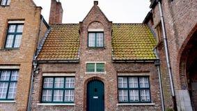 Историческая архитектура в Brugge Бельгии Стоковые Изображения