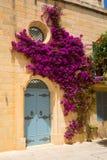 Историческая архитектура в Mdina стоковое изображение