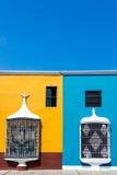 Историческая архитектура в Trujillo, Перу стоковая фотография rf