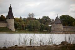 Историческая архитектура славян Стоковая Фотография RF