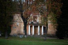 Историческая архитектура славян Стоковое Изображение