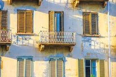Историческая архитектура Турина на солнечный день стоковое изображение rf