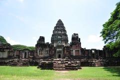 Историческая архитектура Phimai, Таиланда Стоковые Фотографии RF