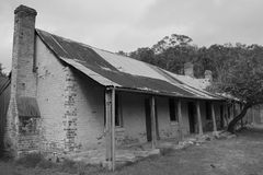 Историческая лачуга стоковое фото