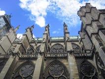 Историческая базилика St Denis в Fance Стоковое фото RF