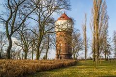Историческая башня в городе Inowroclaw, Польши Стоковая Фотография