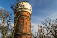 Историческая башня в городе Inowroclaw, Польши Стоковые Изображения