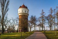 Историческая башня в городе Inowroclaw, Польши Стоковое Фото