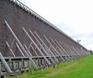 Историческая башня градации в Ciechocinek, Польше Стоковая Фотография