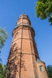 Историческая башня изменяет Turm в центре Papenburg Стоковые Изображения RF