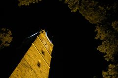 Историческая башня конематки Stefan Cel Стоковые Фотографии RF