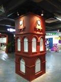Историческая башня с часами в Melaka Стоковое Фото