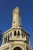 Историческая башня с часами Izmir Стоковые Фотографии RF