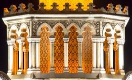 Историческая башня с часами Izmir Стоковое Изображение