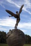 Историческая бронзовая скульптура, Джексонвилл Флорида Стоковые Изображения RF