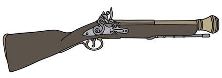 Историческая винтовка Стоковая Фотография