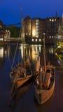 Историческая гавань Luneburg Стоковые Фотографии RF