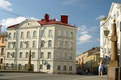 Историческая городская архитектура Стоковые Изображения