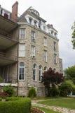 Историческая гостиница 1886 Cresent Eureka Springs, Akansas стоковое изображение rf