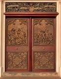 Историческая дверь молельни стоковые изображения rf