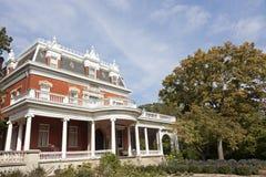 Историческая дом Ellwood в Dekalb стоковые изображения rf