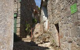 Историческая деревня Linhares в Португалии Стоковое фото RF