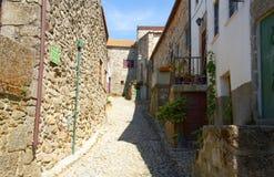 Историческая деревня Linhares в Португалии Стоковые Изображения RF