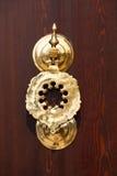 Историческая деталь doorknocker Hagia Sophia Стоковое Фото