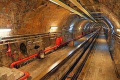 Историческая линия тоннеля в Стамбуле Стоковые Фото