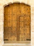 Историческая испанская дверь Стоковые Изображения
