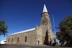 Историческая каменная церковь Стоковая Фотография