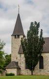 Историческая каменная церковь Upperville Вирджинии Стоковая Фотография RF
