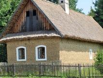 Историческая конструкция села стоковое фото