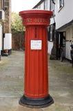 Историческая коробка столба Стоковые Изображения RF