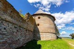 Историческая крепость Oreshek старая русская крепость стоковая фотография