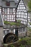 Историческая мельница в Monschau Стоковые Фотографии RF