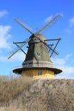 Историческая мельница Viby на острове Фюна, Дании Стоковые Изображения