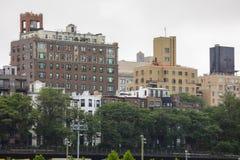 Историческая недвижимость в Бруклине Нью-Йорке Стоковая Фотография RF