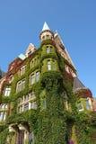 историческая перерастанная дом Стоковая Фотография