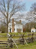 Историческая плантация Latta, Северная Каролина Стоковая Фотография RF