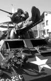 Историческая реконструкция: Американские воины Стоковые Фото